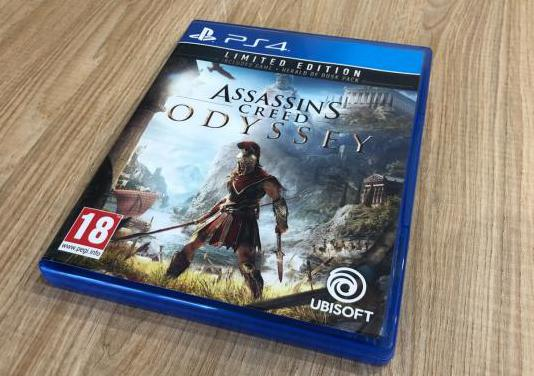Assassin's creed odyssey limited edition ps4