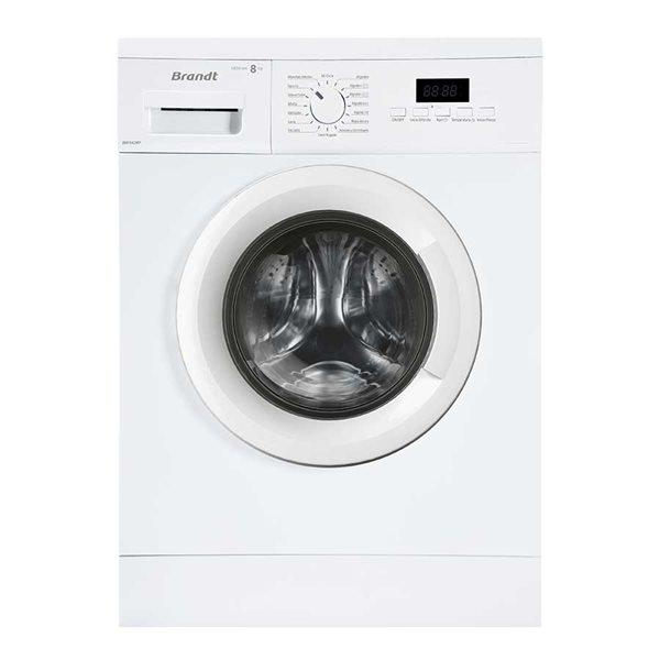 Brandt bwf842wp - lavadora de 8kg a+++ con programa rápido
