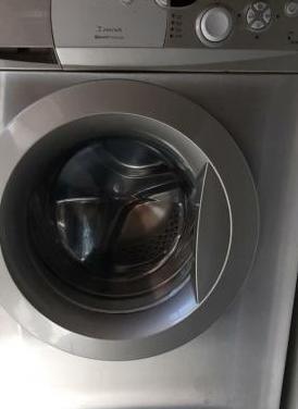 Lavadora acero inoxidable con porte