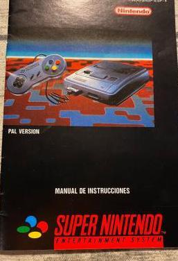 Manual super nintendo pal español