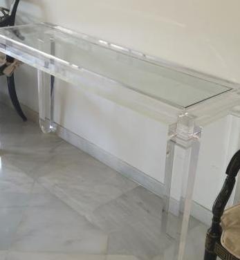 Mesa metacrilato diseño excelente calidad