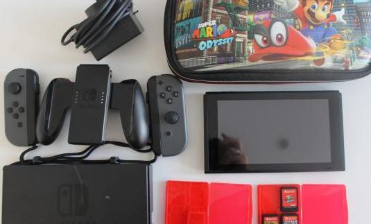 Nintendo switch 3 juegos