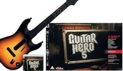 Ps3 - guitar hero 5 guitarra