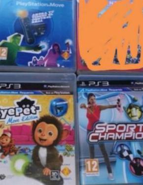 Playstation 3 de 500 gb juegos