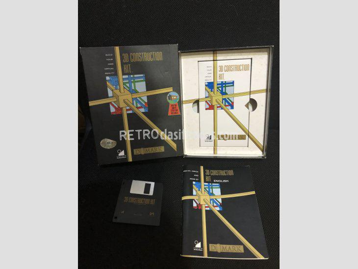 Se vende software commodore amiga 3d construction kit nuevo
