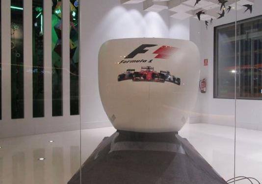 Simulador racing homologado ferrari