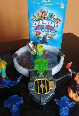 Skylanders box wii u