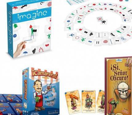 Tres juegos de mesa 1 solo uso