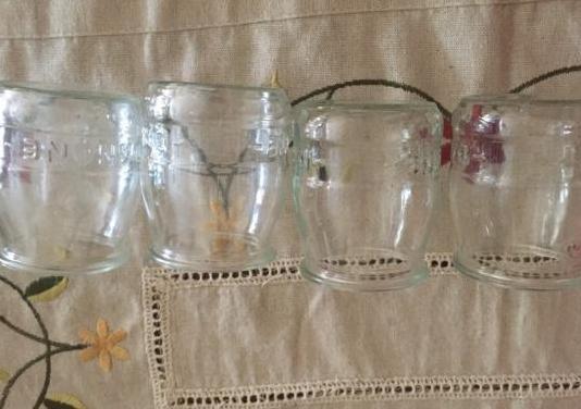 Vasos de cristal ideales para postres