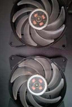 Ventiladores rgb cooler master