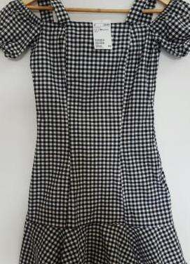 Vestido Vichy, talla 34