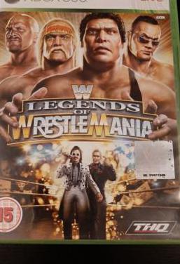 Wwe legends of wrestlemania xbox 360