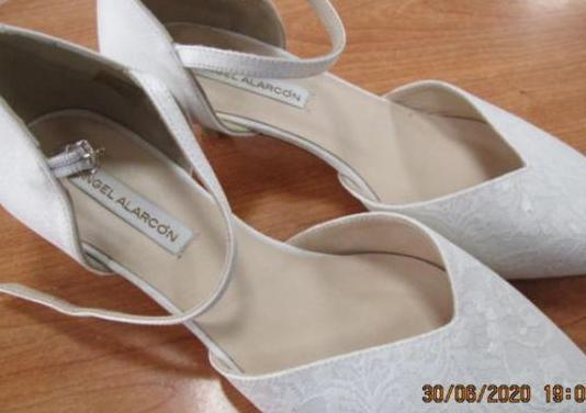 Zapatos novia fiesta ceremonia angel alarcon