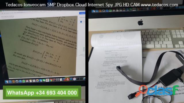 Botón Cámara Web IP Dropbox Ayuda Examen 1