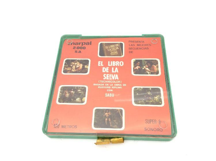 Coleccionismo vintage otros el libro de la selva super 8