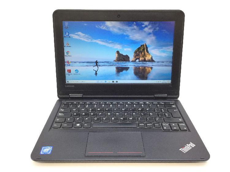 Pc portatil lenovo thinkpad 11e intel 8gb ram 128gb ssd win