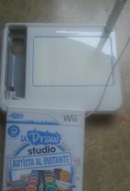 Udraw game tablet wii juego