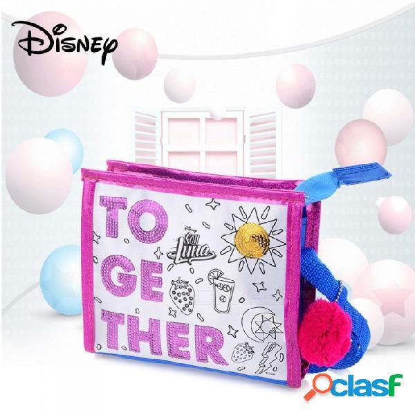bolso brillante accesorios de bricolaje marcadores lentejuelas set bolso que hace el kit para niños rosa