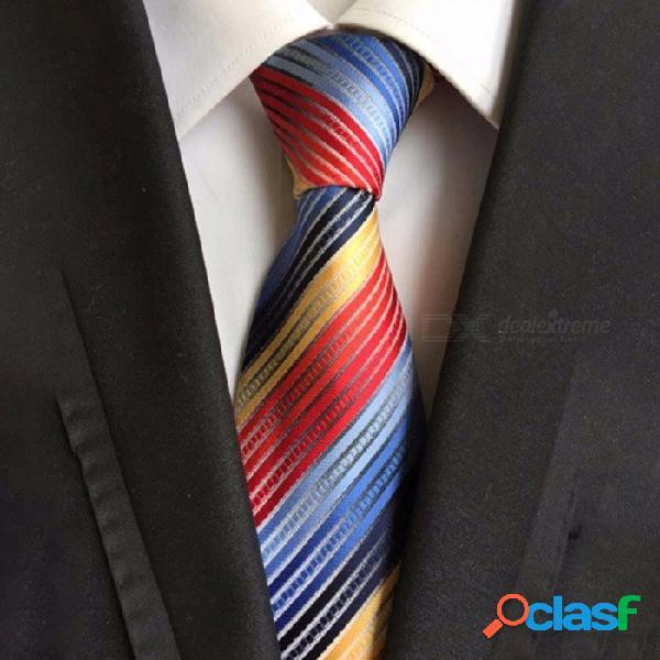Moda Estrecha Delgada Corbata De Impresión De Patrón Múltiple Para Los Hombres, Poliéster Universal Corbata Delgada Para Trajes De Negocios Negro