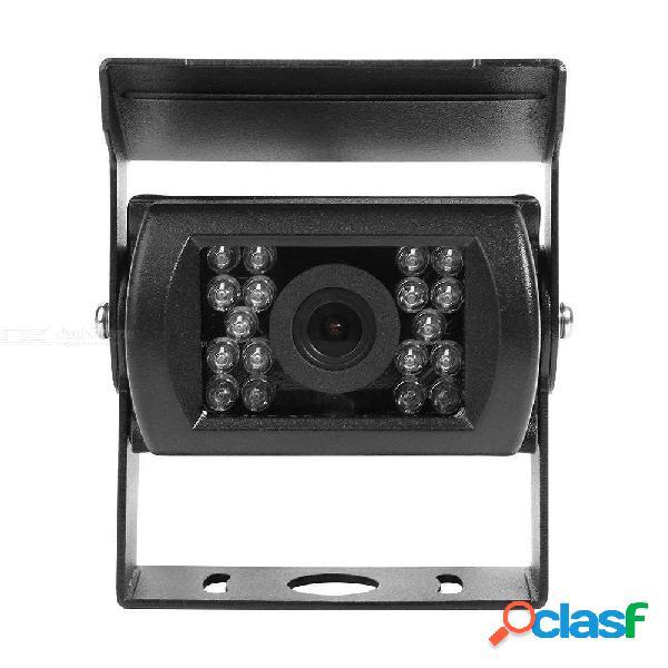 Quelima bus cámara de marcha atrás interfaz av universal 18 visión nocturna por infrarrojos cámara de marcha atrás