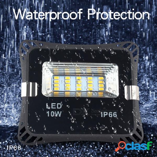 Mifxion 10w crepúsculo a amanecer luz de seguridad led para montaje en pared para exteriores proyector de iluminación de encendido / apagado iluminación exterior para entradas, patio y garaje
