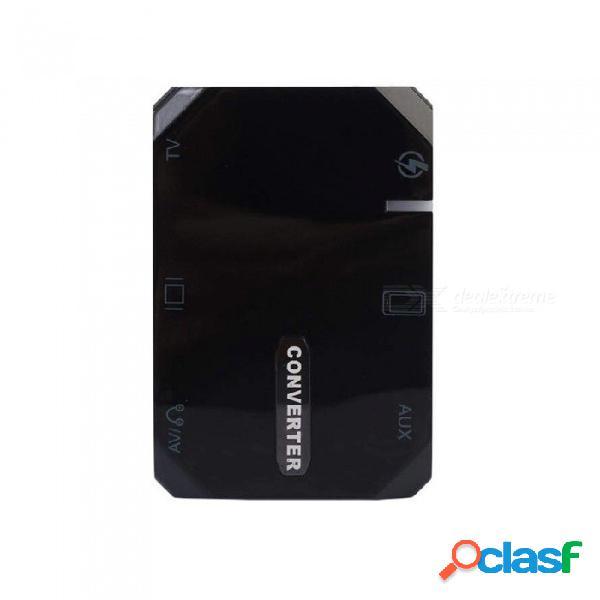 Usb c tipo c a hdmi + vga 3 en 1 convertidor hdtv usb 3.1 usb-c adaptador universal para teléfono iphone android