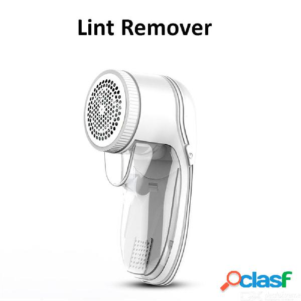 Usb recargable suéter ropa pelusa píldora removedor de pelusa pelo eléctrico trimmer fuzz afeitadora