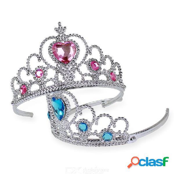 Reina de la nieve corona varita mágica conjunto de cuentas de acrílico lindos regalos para niñas encantadoras joyas