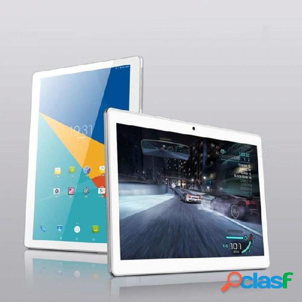 Tablet pc con pantalla curva de 10 pulgadas y 2.5d con 4gb de ram, rom de 32gb, soporta doble sim 4g en espera, wi-fi