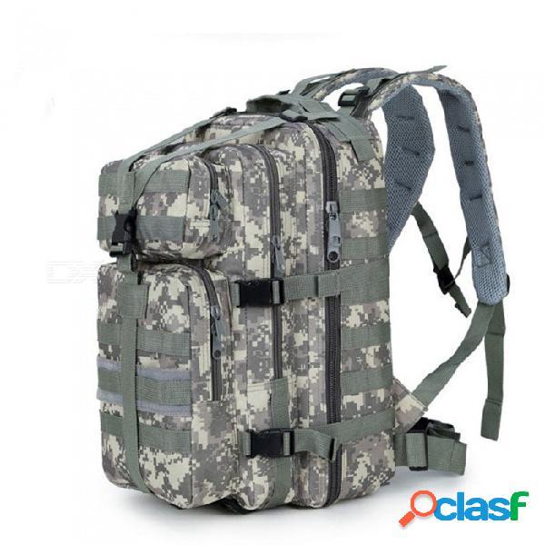 Mochila táctica de ataque 3p de alta capacidad de zhaoyao, bolsa de paquete de camuflaje cs impermeable de 35l para exteriores