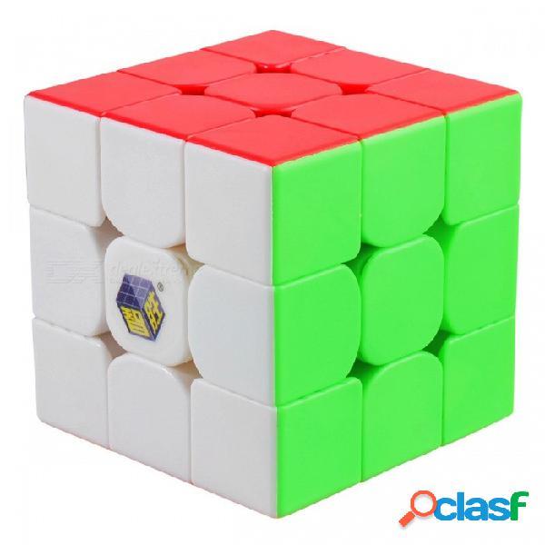 Zhisheng pequeña magia profesional 55.5mm 3x3x3 velocidad cubo mágico rompecabezas juguete educativo para niños adultos-multicolor