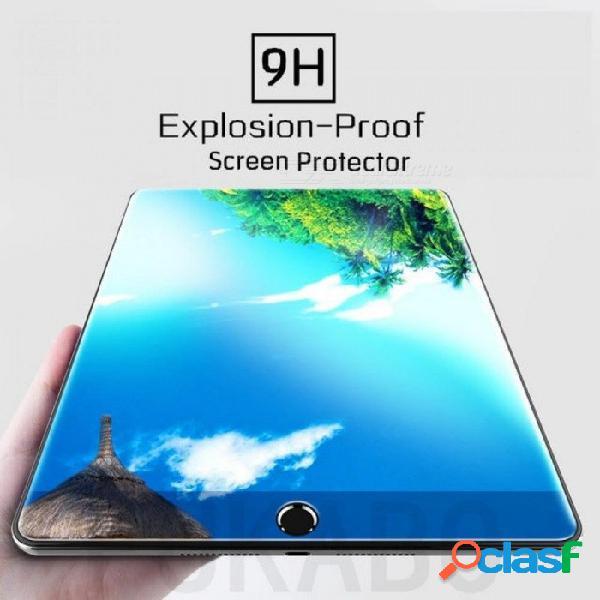 9h vidrio templado para apple ipad mini 1 2 3 mini 4 protector de pantalla protector de película para ipad air 1 2 glass para ipad 2 3 4 pro glass