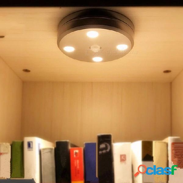 Usb recargable luces de noche led infrarrojos infrarrojos cuerpo humano sensor de luz gabinete pasillo lámpara que acampa