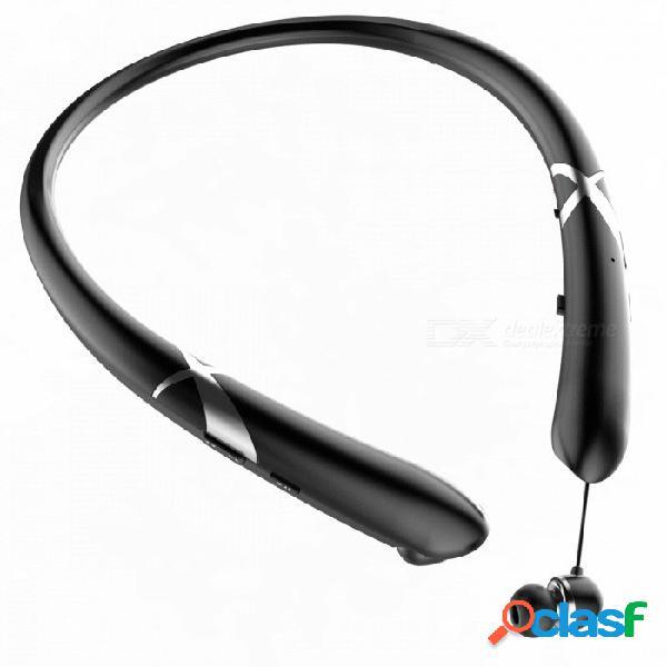 Auriculares bluetooth inalámbricos hifi premium con micrófono, soporte para escuchar canciones y llamadas telefónicas