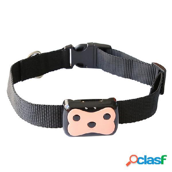 Dmdg mini impermeable en tiempo real gps tracker para la correa del animal doméstico del gato / perro