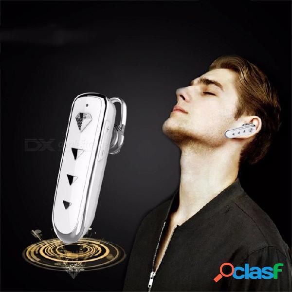 X3 auricular bluetooth inalámbrico en la oreja, auricular estéreo super bass deportes bluetooth auriculares para teléfono móvil blanco