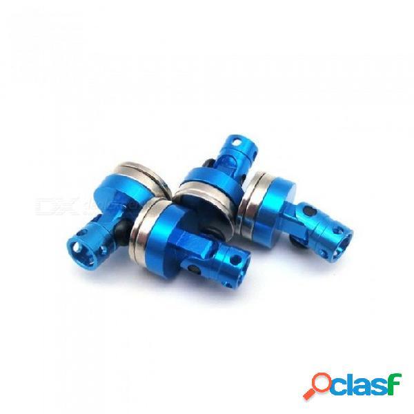 4pcs aluminio sigilo magnético cuerpo invisible soporte de montaje para 1:10 coche rc hsp tamiya rc oruga axial scx10 rc4wd d90 azul