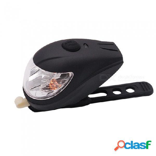 Faros de bicicleta led bocina fuerte interruptor de luz de carga usb luz de bicicleta faro delantero negro