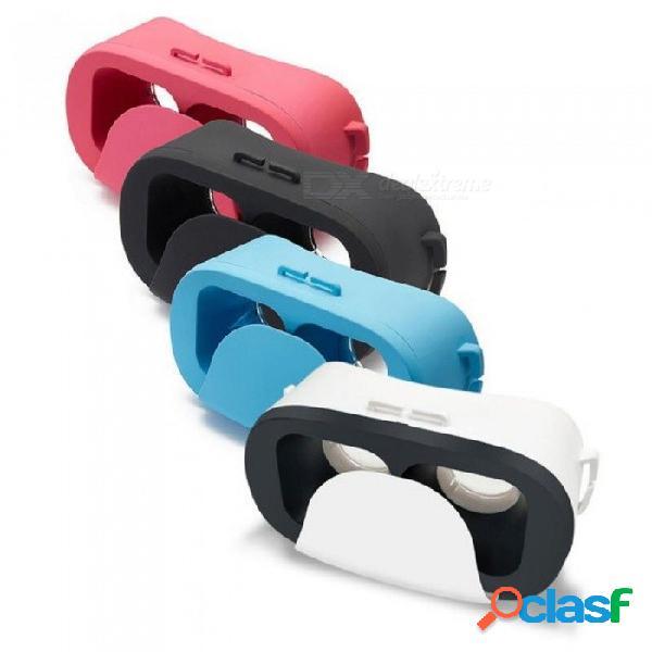 Gafas de realidad virtual 3d vr cartulina google para android ios 4.0-6.0 pulgadas fov 120 3d mini gafas vr 180g blanco