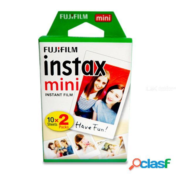 Fujifilm Instax Mini Film Blanco 20 Hojas Para FUJI Cámara De Fotos Instantáneas Mini 9 Mini 25 7s 7C 90