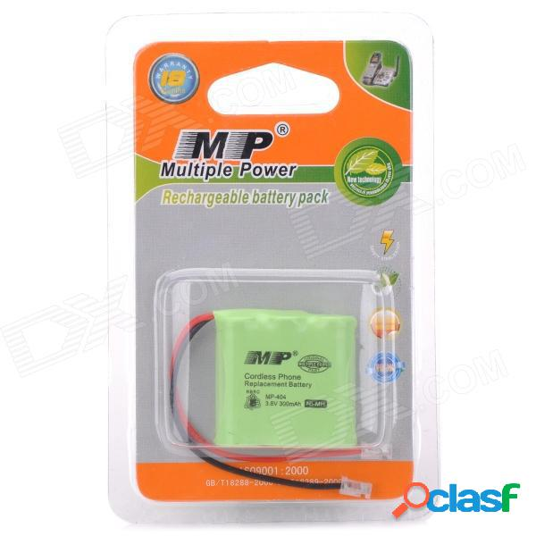 Batería de reemplazo 3.6v / 300mah para teléfono inalámbrico (bbk / gaoke / siemens w10 / a49 / w12)