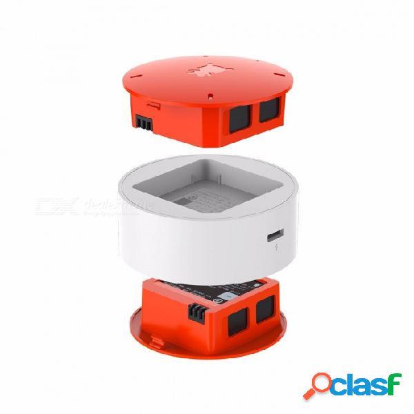 Original xiaomi mitu 920ma base de carga del cargador de acoplamiento de la batería para mitu rc drone naranja