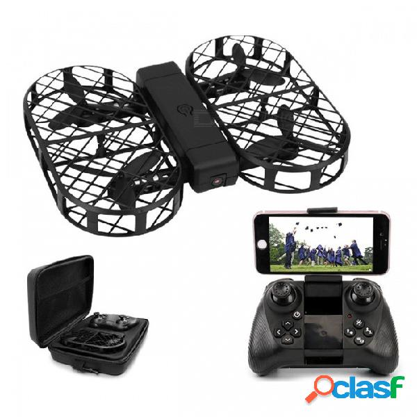Rc quadcopter drone plegable con cámara hd 480p 720p fpv wifi control 2.4g 4ch 6 ejes giroscopio con ba14444444