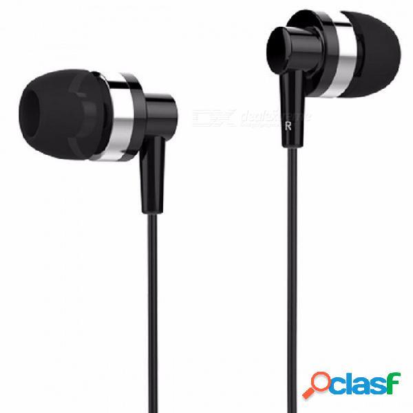 Auriculares profesionales estéreo con micrófono para audífonos intrauditivos universales jd89 langsdom para pc xiaomi teléfono con android
