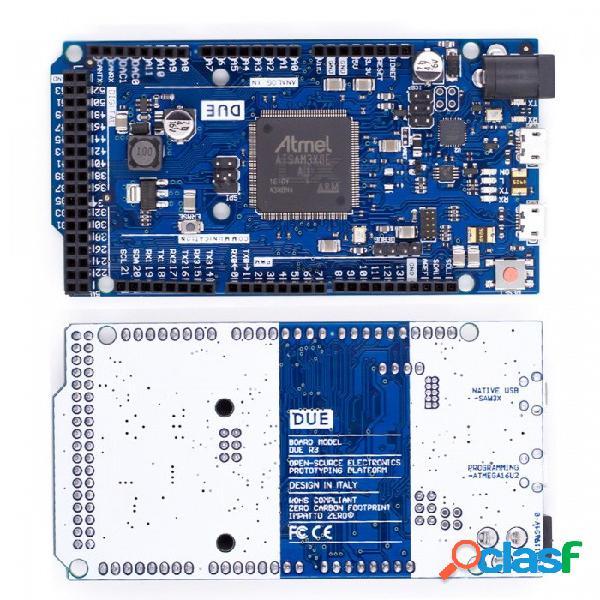 Tablero due r3 oficial compatible sam3x8e arm de 32 bits cortex-m3 / mega2560 r3 duemilanove 2013 para placa de arduino