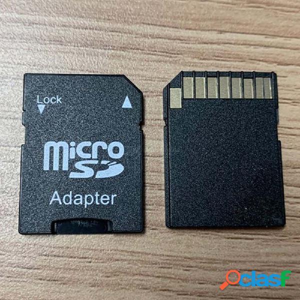 Adaptador de tarjeta de memoria micro sd a sd para dispositivos equipados con ranura tf para teléfonos inteligentes