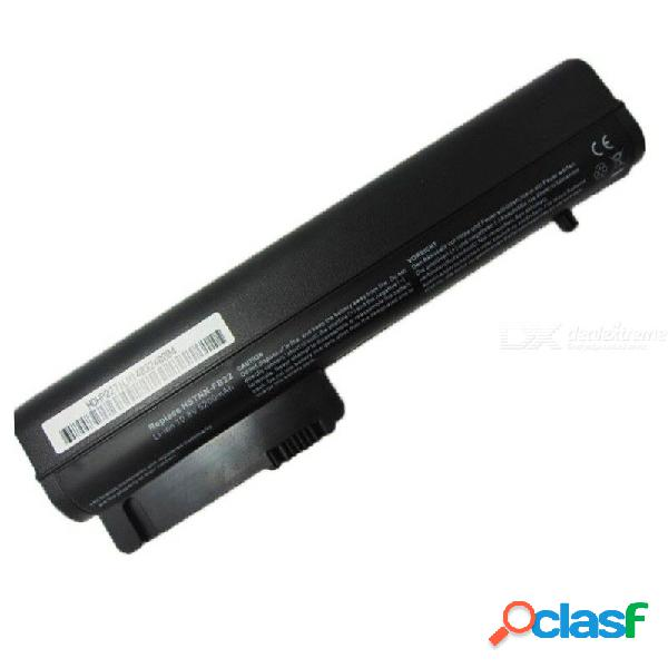 Batería para laptop 4, 400mah 6 celdas 10.8v reemplazo batería para hp nc2400 2510p nc2410 2530p 2540p