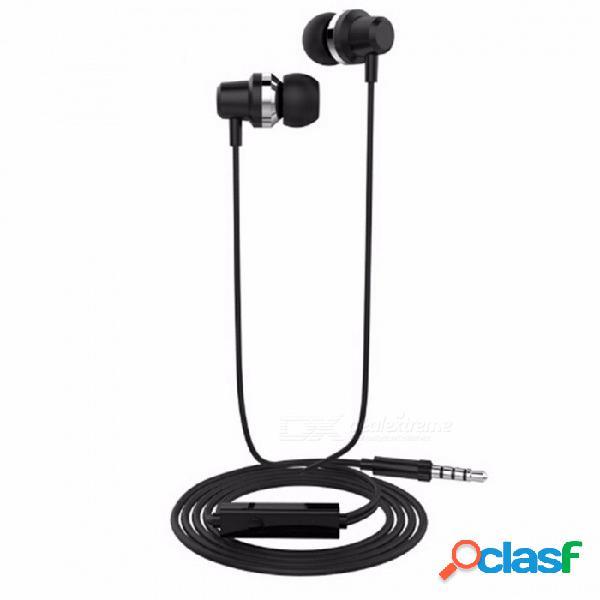 Langsdom j10 3.5mm en la oreja los auriculares de alta fidelidad auriculares estéreo de bajo auriculares con micrófono 3.5mm auriculares de metal para ios android teléfono de plata
