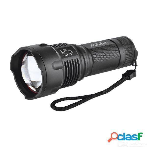 Linterna táctica brillante del lumen xml t6 brillante del poder más elevado brillante, antorcha del led de la batería aa / 18650/26650 (no incluir la batería)