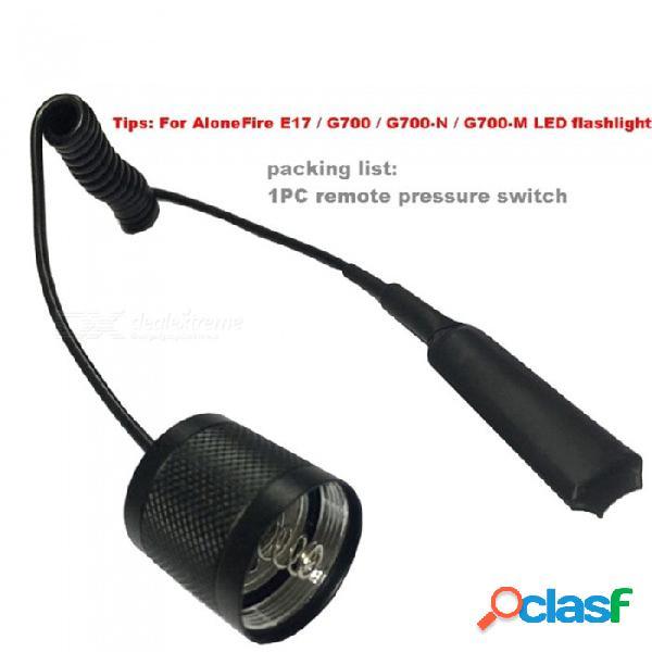 AIBBER TONE E17 Escalable Zoom CREE LED Luz Roja Linterna Luz Táctica Roja Caza Luz Roja Antorcha Para Detector De Pesca